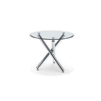 שולחן לפינת אוכל זכוכית קוטר 90 226598