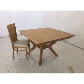 שולחן לפינת אוכל מרובע נפתח ניתן להזמין לפי מידה 5598879