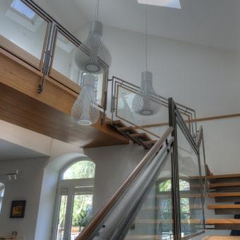 מדרגות עץ צפות
