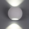 מנורת קיר אפ-דאון כדור עדשה
