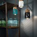 מנורת תקרה תלויה INDUSTRIAL C1620