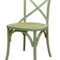 כסא דגם קרוס ירוק בהיר
