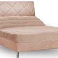 מיטה וחצי עמינח XL BED SILVER דגם סטטוס + ראש מיטה מרופד