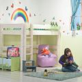 מיטת גלריה לילדים מעץ אורן מלא