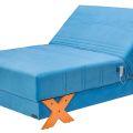 מיטה ברוחב וחצי דגם ברזיל מבית מדיקומפורט