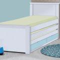 מיטת ילדים משולשת דגם גל הנפתחת ל-3 מיטות