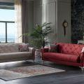 סלון דגם MIKADO - מיקאדו הכולל ספה תלת מושבית וספה דו מושבית