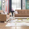 סלון דגם PS 10 הכולל ספה תלת מושבית וספה דו מושבית