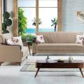 סלון דגם PS 14 הכולל ספה תלת מושבית וספה דו מושבית