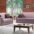סלון דגם PS 19 הכולל ספה תלת מושבית וספה דו מושבית