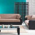 סלון דגם PS 27 הכולל ספה תלת מושבית וספה דו מושבית