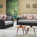 סלון דגם PS 5 הכולל ספה תלת מושבית וספה דו מושבית