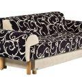 ספה נפתחת למיטה דגם דרור מבית פולירון קיבוץ זיקים