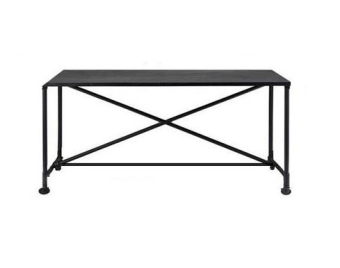 Our popular metal desk with wheels for every office space .  Comes in natural, broken white and black  140/60/76CM