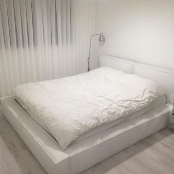 מיטה נמוכה   מיטה מדהימה נמוכה בסגנון אמריקאי