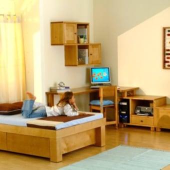 מזרן: 190\120\10 ספוג כחול מיטה הבנויה כולה מלביד הליבנה האיכותי (הקרוי גם בירץ), מסילות המיטה איכותיות ארוכות וחזקות במיוחד המיטה צבועה בצבעי ווש איכותיים וידידותיים לסביבה. ניתן לבחור ממגוון הצבעים המוצעים. למיטה 2 מגירות גדולות לאחסון.