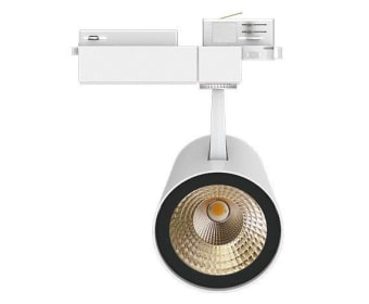 ספוט תאורה מבוסס LED מבית המותג NEKO מגיע בצבעים לבן, אפור ושחור.