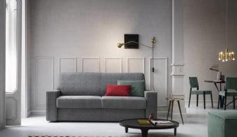 ספה פינתית ,דו או תלת מושבית בעיצוב מודרני נפתחת בקלות למיטה זוגית עם עם מזרון הודות למנגנון איטלקי ייחודי שפותח במיוחד על מנת לאפשר שימוש נוח יומיומי ועמידות לאורך זמן. הספה מגיעה במגוון רחב של מידות, מזרונים, בדים וצבעים .