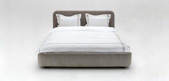 size: (According to mattress size of: 160X200cm) W/L: 190cm D: 230cm H: 90cm * Custom size and fabrics - optional