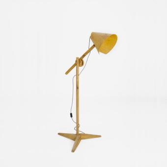 Oak body Oak veneer lampshade size: Adjustable