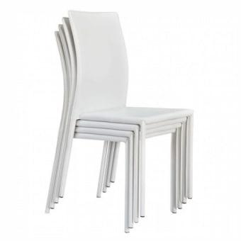 חומרים:     מתכת ציפוי:     דמוי עור גוון:     לבן מידות:     42.5* 48 ס''מ, עומק מושב 40, גובה משענת 49, גובה כסא 90, גובה מושב 44 ס''מ. הרכבה:     מורכב קטגוריה:     כסאות לפינת אוכל