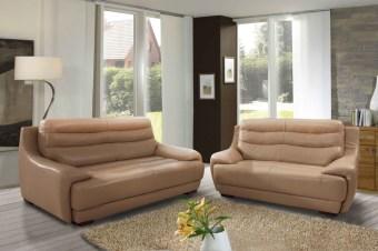 ספה בעיצוב מודרני Vegas מערכת ישיבה בעיצוב עכשווי. הספה עשויה עור איכותי, לבחירה ממגוון רחב של עורות. ייחודה של הספה - תמיכה מושלמת לגב, אותה ניתן להרגיש כבר מהישיבה הראשונה.