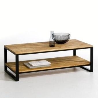 """שולחן סלוני מעוצב בעל מדף תחתון דגם שובל    פלטות השולחן עשויות מעץ מלא בוצ'ר בוק בעובי 26 מ""""מ    השולחן עשוי מברזל איכותי בעובי 40X20 צבוע בשתי שכבות לשמירה על הצבע לאורך זמן    מידות : רוחב – 120 ס""""מ עומק – 60 ס""""מ גובה 45 ס""""מ    המוצר מיוצר בישראל- גאוו"""