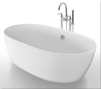 מפרט  אמבטיה עומדת בעיצוב אובלי