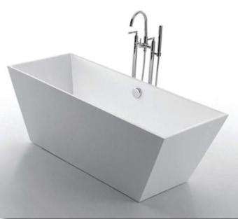 מפרט  אמבטיה עומדת בעיצוב טרפז