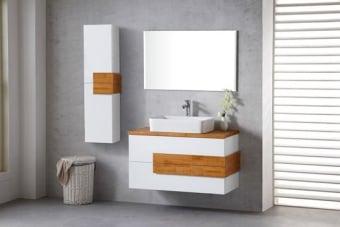 מפרט  ארון אמבטיה מעוצב סופר איכותי צבע אפוקסי-צביעת תנור גוף סנדויץ איכותי פס עץ מלא פרזול יוקרתי -סגירה שקיטה