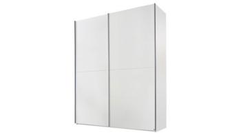 ארון הזזה דגם גבע    גוף לבן    ידיות אלומיניום    כולל 6 מדפים, טריקה שקטה ו-4 מגירות פנימיות   מידות      200/67/236