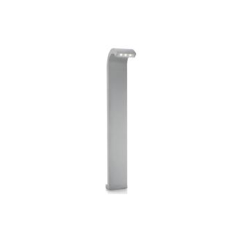 """עמוד גינה מבית פיליפס, צבע אפור, מוגן מים IP44, גובה 84 ס""""מ עם נורת לד   נורה  LED  מתח: 220V  דרגות הגנה: IP44  silver"""