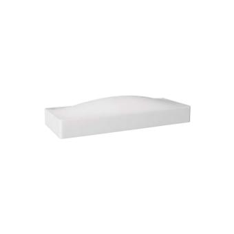 צמוד קיר מבית PHILIPS בעל קו גלי ונקי, עשוי אלומיניום ומאיר כלפי מעלה את הקיר   נורה  LED  מתח: 220V  דרגות הגנה: IP20  חומר: אלומיניום  silver  white