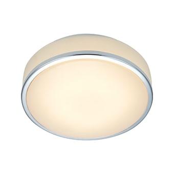 """צמוד תקרה מוגן מים קוטר 22 או 28 ס""""מ   נורה  LED  מתח: 220V  דרגות הגנה: IP44"""