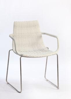 דינמיק כסא ידיות AL-7907 לבן עתיק  מבצע עד גמר המלאי