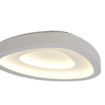 גוף תאורה מבנה אלומיניום בחיתוך עמוק בלייזר רוחב גוף התאורה : 39 סמ אורך מקסימלי :56 גובה גוף התאורה : 7.7 סמ עוצמת הארה : 60W 4800LM