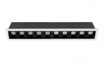 """מק""""ט    22392   קוטר    35*270   רוחב    280   גובה    50   אורך    45   מבנה    יציקת אלומיניום   גוון אור    3000K   IP    20"""