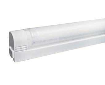 לשימוש תאורת פנים. מקור אור 1X8W T5 G5.   מיוצר מפלסטיק.   זמין בצבע לבן.