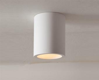 לשימוש תאורת פנים. מקור אור 1X50W PAR16 GU10.   מיוצר מגבס.   זמין בצבע לבן.