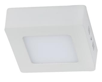 צמוד תקרה לשימוש תאורת פנים. מקור אור 24W לד Samsung.   מיוצר מאלומיניום + אקרילי.   זמין בצבע לבן.