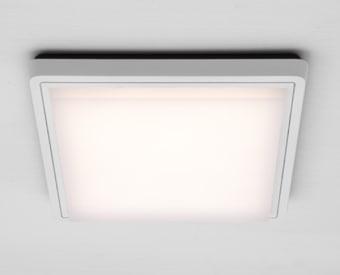 צמוד תקרה לשימוש תאורת פנים. מקור אור 29W .   מיוצר מאלומיניום + פלסטיק.   זמין בצבע לבן.