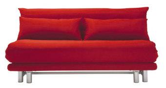 ספה מיטה דגם MULTY של חברת LIGNE ROSET הצרפתית. לספה מראה יומיומי וחסר זמן ,המזרון כולו מיחידה אחת והבסיס מרצועות לייסטים. הספה קלה מאוד לפתיחה ויש לה שלושה מצבים שונים - ספה, מיטה ו- loveseat. הכיסוי קיים במספר צבעים וניתן לגמרי להסרה. ספת מיטה פרקטית מאוד ובזכות הכיסוי שלה , ניתן להשאיר את המצעים בתוך המיטה מבלי שיראו אותם. ניתן להזמין את הספה במידות נוספות. אתם מוזמנים ליצור איתנו קשר ואנחנו נשמח להציג בפניכם את קולקציית הבדים המלאה של חברת LIGNE ROSET.