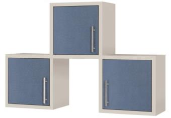 כוורת תלייה הכוללת 3 מדפים דלת פתיחה חומר גלם מלמין *ניתן לשנות ל m.d.f בתוספת תשלום מידות בס״מ: גובה: 80.0 רוחב: 119.0 עומק: 29.2
