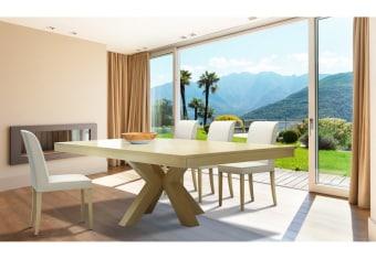 """שולחן פינת אוכל +6    כיסאות דגם פלאוור פינת אוכל בסגנון מודרני    יוקרתי ועשיר + 6 כיסאות פינת האוכל בגימור    פורניר אלון בשילוב עץ מלא. מידות: 100*180 + 2 הארכות    50 ס""""מ כל אחת צבע:טבעי תיתכן סטייה של 2% מחירון משלוח : 450 ₪ (ישולם למוביל) תנאי משלוח : הובלה והרכבה ישולם    ע""""י הלקוח למוביל בעת ההגעה. מעל קומה שלישית ללא מעלית תוספת של 50 ש""""ח    לקומה במידה וצריך מנוף ישולם ע""""י הלקוח בכל    מקרה של צורך בשרותי מנוף חיצוניים או פירוק והרכבה החיוב יחול על הלקוח. הובלות    מעבר לנתיבות באר שבע שדרות וללהבים דרומה ומערבה {עוטף עזה עד מעברי הגבול} ומעבר    לקו הירוק, לעפולה מזרחה ועד לחיפה צפונה ייתכן עיכוב באספקה של עד 14 יום ותוספת    של 250 ₪ ישירות למוביל. לאזור    מצפה רמון\אילת תהיה תוספת של 350 ₪."""