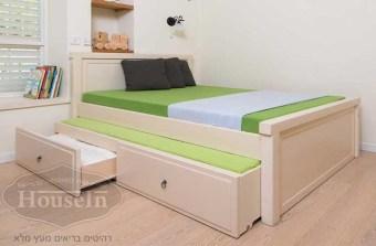 בהאוס אין תוכלו לעצב מיטות ילדים מ-100% עץ מלא בהתאמה אישית לפי הצרכים האישיים שלכם ושל ילדיכם. כל דגם ניתן לשינוי במידה, בצבע ובעיצוב.  לרהיטים נוספים בעיצוב אישי