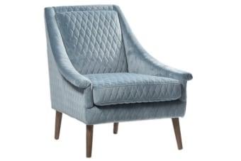 כורסא תכלת לסלון – תוספת צבעונית מקסימה לחלל המגורים בבית    כורסא תכלת לסלון בגוון מעודן ונעים למראה. הכורסא מתאימה בתור תוספת לצד הספה הגדולה בסלון כיחיד או כזוג וכאלמנט בעל ערך עיצובי נוסף. מיוצרת מריפוד איכותי ורגליים מעץ אלון מלא, עכשיו עם משלוחים לכל הארץ.
