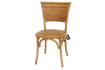 כסא אוכל נוח במיוחד עם משענת חובקת    כסא אוכל נוח מעץ מלא ואיכותי בגוון אגוז לעיצוב כפרי בשולחן האוכל בבית. לכסא משענת ראטן מעוגלת המספקת תמיכה אחידה לגב. כמו כן מושב מרופד וחיזוקים ברגליים. מושלם לעיצוב שולחן אוכל בסגנון כפרי או מודרני, עכשיו בחנות או עם משלוח לכל הארץ, כמובן באחריות מלאה.