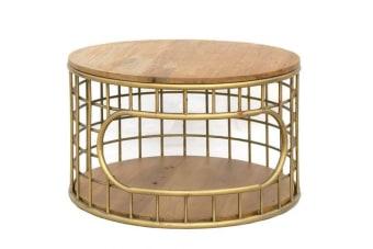 שולחן עגול פליז בעיצוב אלגנטי ומיוחד    שולחן עגול פליז לעיצוב חלל המגורים והסלון. מיוצר ממשטח עץ טבעי החושף את הטקסטורה הטבעית על בסיס מתכת בגוון פליז עדכני. רהיט מיוחד במלאי מוגבל מאוד, עכשיו עם שרות משלוחים ארצי. מומלץ להתעדכן אם נמצא בחנות טרם ההגעה..