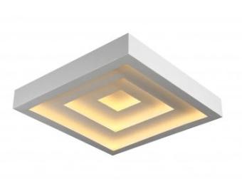 LEVEL-3-SQ  תאורה צמודה  מתאים לחדרים פינות אוכל  42CM-42CM  עוצמת לד  50W  3000K