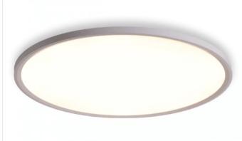קלוד צמוד מרחף 72W  גוף תאורה צמוד תקרה מרחף  כולל דרייבר בעל תקן אירופאי  IP: 20  גובה: 25  גובה בסיס: 40  מבנה: אלומיניום  CRI: 80  שטף אור: 5760  הספק: 72W  קוטר: 780  לבן / שחור  3000K / 4000K